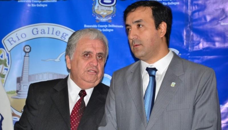 Raúl Cantín y Pablo Grasso (Foto archivo).