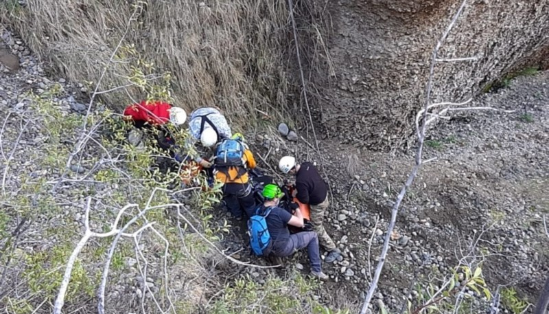 Rescatistas encontraron el cuerpo.