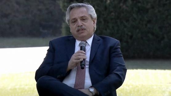 Alberto Fernández impulsará una Ley de Educación Ambiental