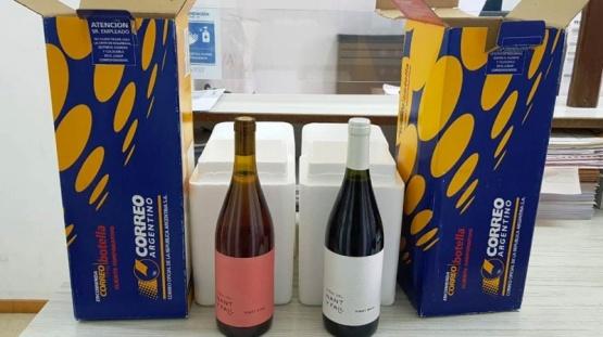 'Viñas del Nant y Fall' de Trevelin emprendió su primera exportación