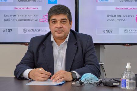 """García """"Respetemos las indicaciones que se generan desde los estamentos del estado"""""""