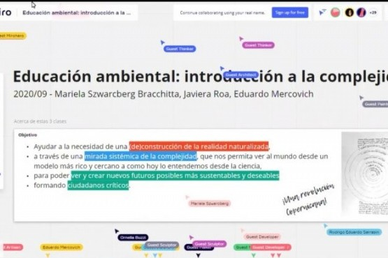 """Comenzó el dictado de la """"Especialización Superior Docente en Educación Ambiental"""""""