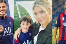 Debutó el hijo de Wanda Nara en las inferiores del PSG