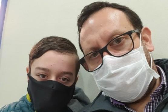 Ayer antes de ingresar al tratamiento.