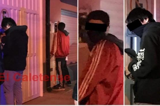 Tres detenidos cuando intentaban ingresar por el techo de una casa para robar