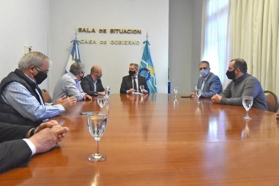Arcioni se reunió con su gabinete para abordar las gestiones realizadas ante Nación