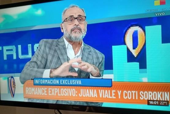 Juana Viale y Coti, ¿juntos?