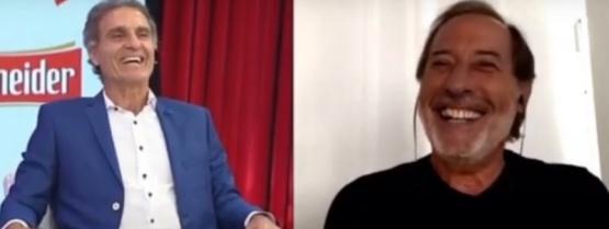 Oscar Ruggeri tiró un latiguillo de Guillermo Francella en vivo