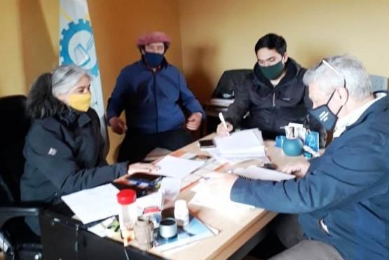 Gobierno brindó ayuda a la Comuna Rural de Atilio Viglione