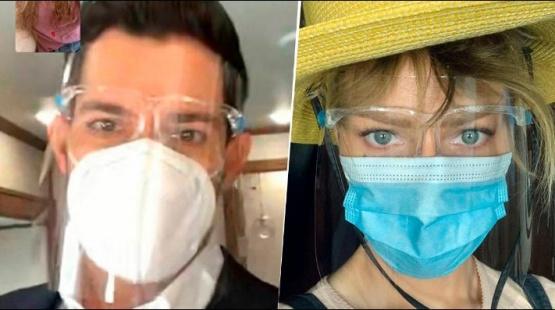 Actores de Lucifer en pandemia.