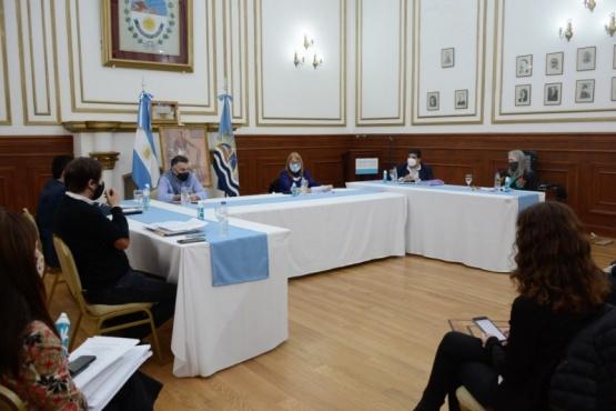 Alicia participó de una nueva reunión del COE Provincial