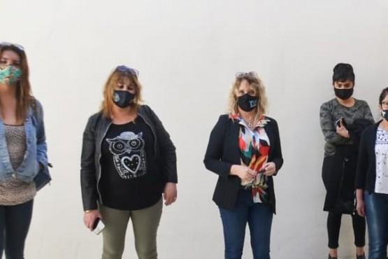 Referentes sociales recorrieron el Centro Integral de la Mujer