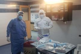 El Formenti comenzó a hacer hisopados a personas con síntomas