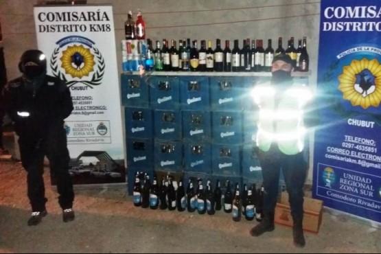Incautan gran cantidad de alcohol por venta clandestina