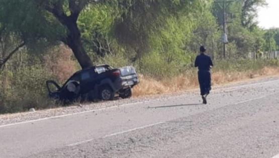 Un hombre murió en un accidente en la ruta cuando le enseñaba a manejar a su hija