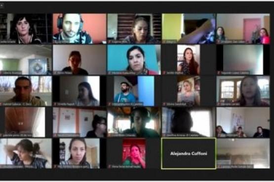 """""""Medios de Comunicación y la mirada en la intervención"""": Finalizó el Vº Módulo de la capacitación"""