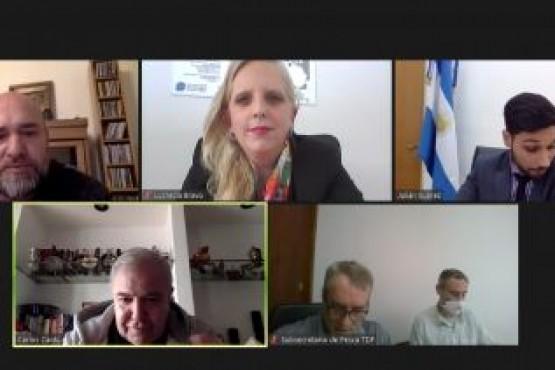 Santa Cruz participó de encuentro para definir aspectos de la campaña de Centolla