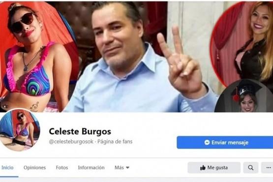 Celeste Burgos, pareja del exdiputado Juan Ameri, es víctima de fake news
