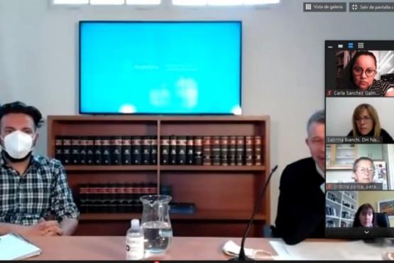 Chubut participóde una reunión sobre aplicación de la Ley Nacional de Derechos Humanos y Salud Mental