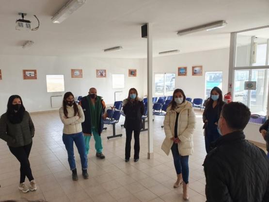 Llegaron 18 profesionales para reforzar el Hospital de Río Gallegos