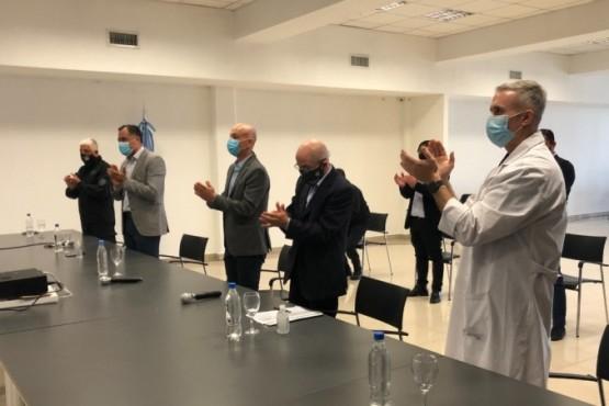 Presentaron la obra para la construcción del laboratorio de Biología Molecular