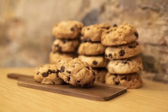 Cómo hacer galletas de avena, banana y chocolate