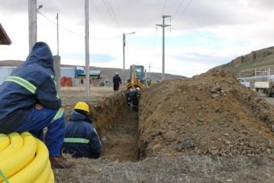 Comenzó la obra de extensión de redes de gas