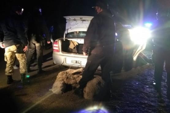Tres detenidos por abigeato