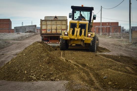 Municipio avanza con tareas en diferentes sectores de la ciudad