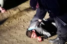 Vecinos detuvieron a un ladrón, lo golpearon y debió ser hospitalizado
