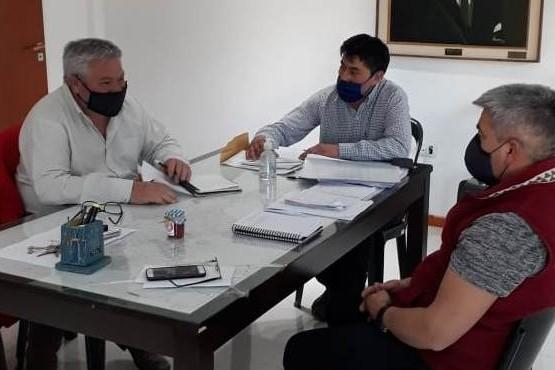Gobierno relevó la situación en el departamento Tehuelches