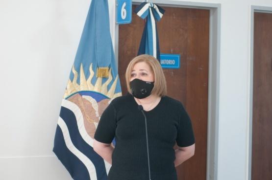Dra. Alicia Marcela González. (L.F)