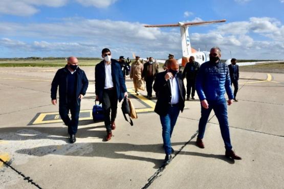 Puerto Madryn arribó la comitiva de Nación y aplicaría el Plan Detectar