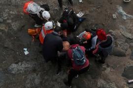 Chile: Detuvieron a carabinero por tirar a un joven al río