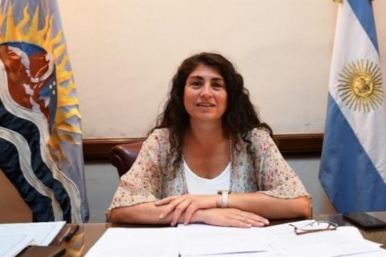 Senadora nacional, Ana María Ianni.