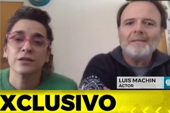 Luis Machín se enojó por esperar por una entrevista en televisión y el periodista lo sacó del aire