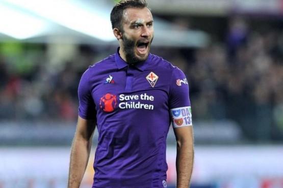 Germán Pezzella, ex River y capitán de la Fiorentina.
