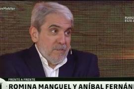 Aníbal Fernández habló de YCRT en el programa de Andy Kuznetzoff