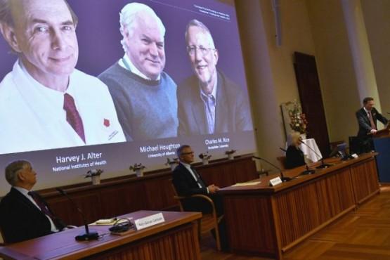 Premio Nobel de Medicina. FOTO: AP