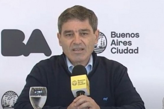 El ministro de Salud porteño alertó sobre los
