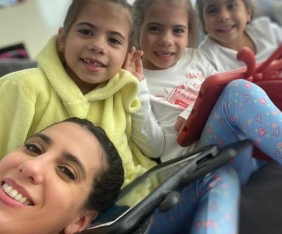 Cinthia Fernández indignada con las clases virtuales: ¿Qué carajo aprenden en media hora?