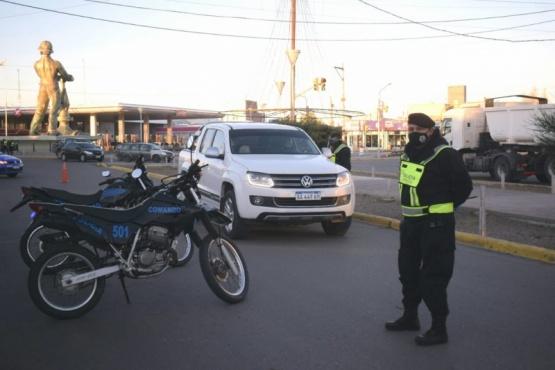 En una semana la Policía labró 120 actas de infracción y multas