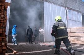 Chispa provocó un incendio