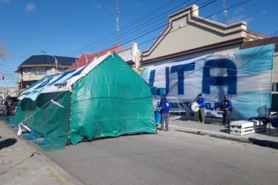 UTA en la Municipalidad (Foto: C.Robledo).