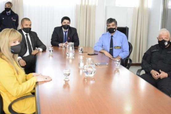 La reunión fue presidida por el Ministro de Seguridad.