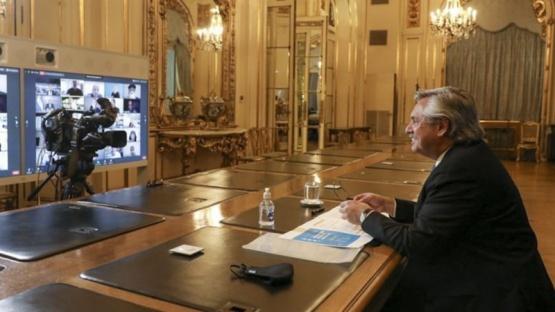 El Presidente decide con gobernadores la próxima fase del aislamiento