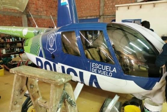 Encontraron un helicóptero del Ministerio de Seguridad de la provincia de Buenos Aires en Paraguay
