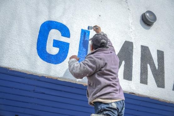 Trabajadores de Obras Públicas avanzan en distintas tareas