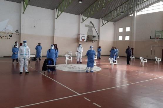 Hoy y mañana se realizan  en el Bº 400 Departamentos de Río Gallegos