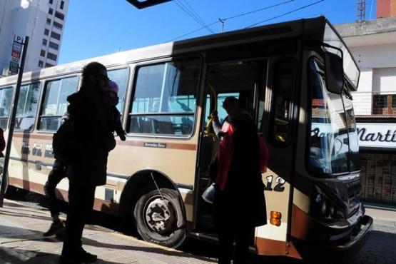 Una ciudad tan grande como Río Gallegos donde funciona el transporte urbano con 6 empresas